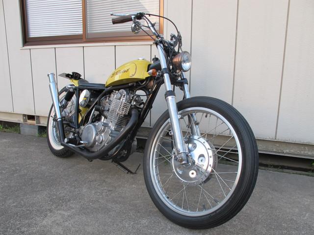 ヤマハ SR400 フルカスタム チョッパーの画像(岡山県