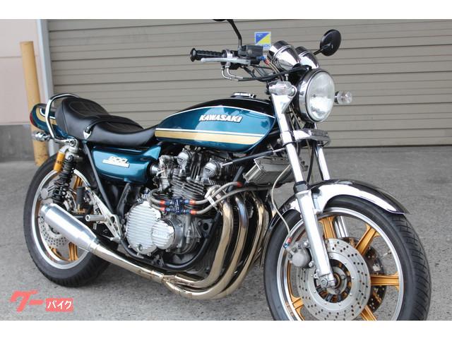 カワサキ Z-I 73年モデル 玉虫カラーの画像(栃木県