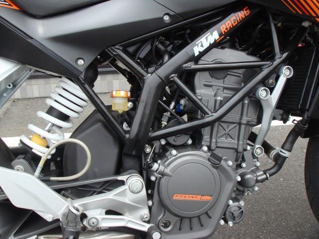 KTM 125デュークの画像(茨城県