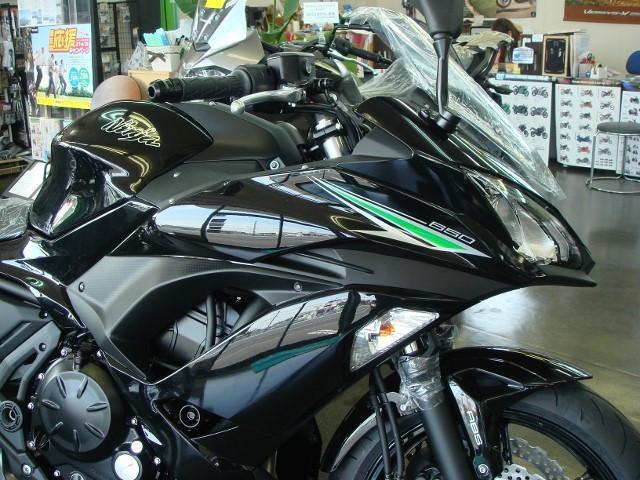 カワサキ Ninja 650 ETC付の画像(茨城県