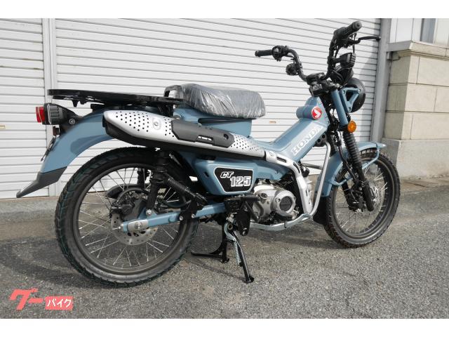 ホンダ CT125ハンターカブ カスタム マットミディエートブルー オリジナル色 新車の画像(群馬県