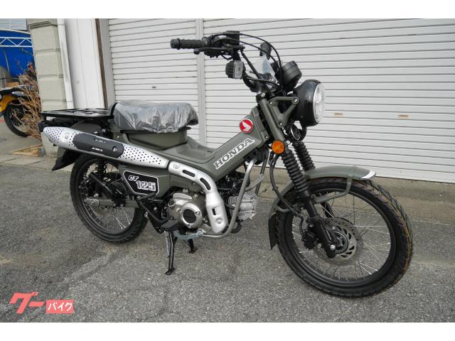 ホンダ CT125ハンターカブ カスタム マットモルドグリーン オリジナル色 新車の画像(群馬県