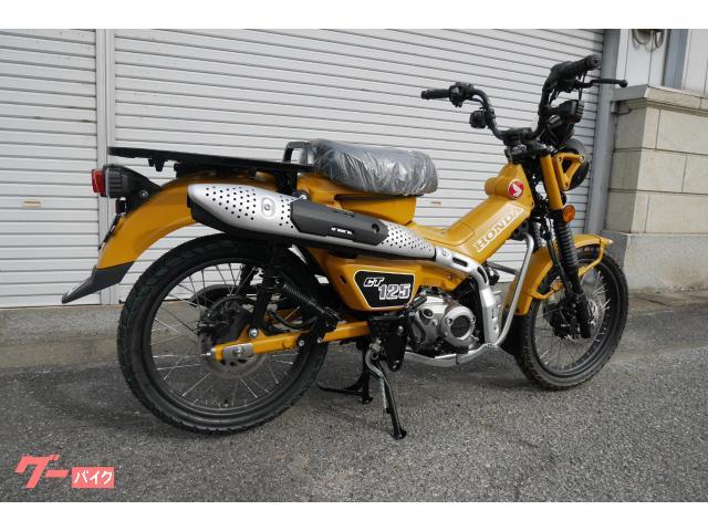 ホンダ CT125ハンターカブ マットハニーマスタード オリジナルカラー カスタム車の画像(群馬県