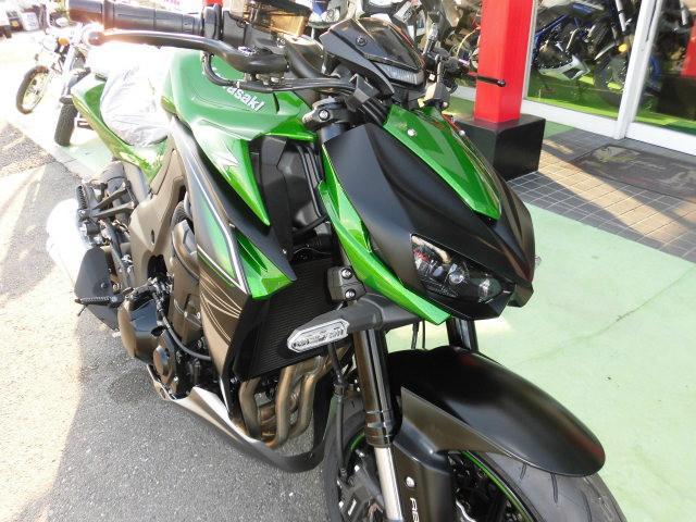 カワサキ Z1000 2018年モデルの画像(群馬県