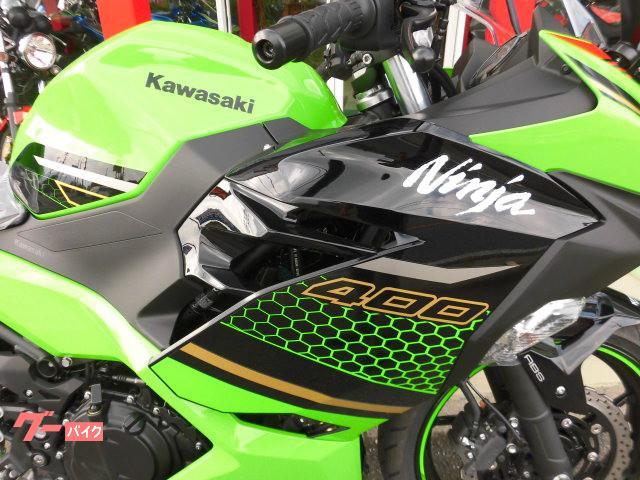 カワサキ Ninja 400 KRT 2020年の画像(群馬県