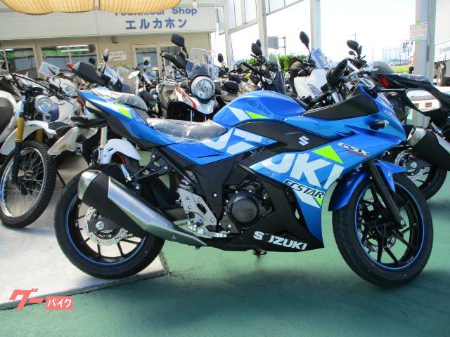 GSX250R 2021年モデル ABS無し トリトンブルーメタリックNo.2 1ポートUSB電源付き