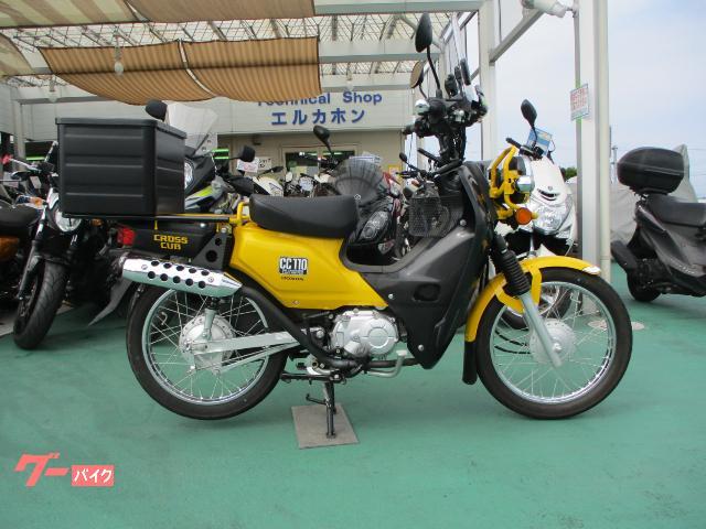 クロスカブ110 2BH−JA10 TAKEGAWA政府認証マフラー IRCGP22タイヤ前後新 バッテリー新 エアフィルター新