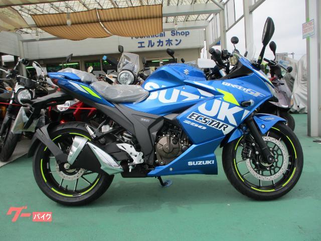 GIXXER SF 250 2021年モデル ABS装備 6速ギヤ 日本国内仕様