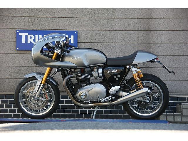 TRIUMPH スラクストン1200R トラックレーサーキット 他の画像(群馬県