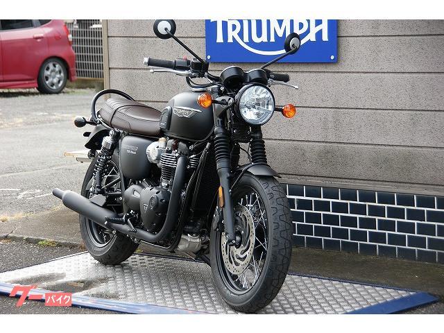 TRIUMPH ボンネビルT120ブラックの画像(群馬県
