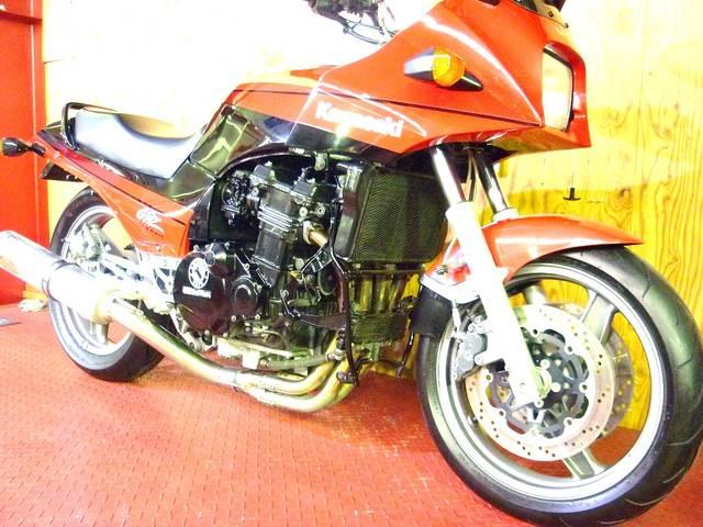 カワサキ GPZ900R 月木レーシングエキゾーストの画像(埼玉県
