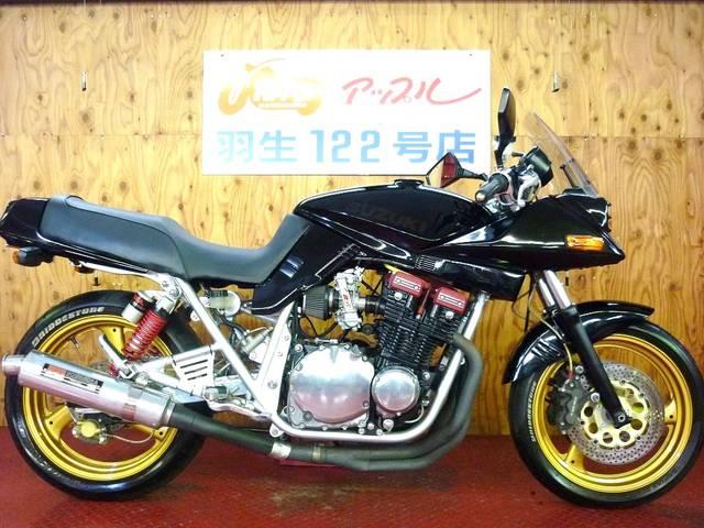 スズキ GSX750S KATANA  ブラックフルカスタム FCRキャブの画像(埼玉県