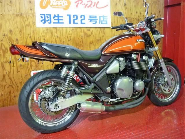 カワサキ ZEPHYR1100RS ゴールドフォーク モナカ管 オイルクーラーの画像(埼玉県