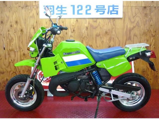 カワサキ KS-II ライムグリーン ビックキャブ 空冷2ストの画像(埼玉県