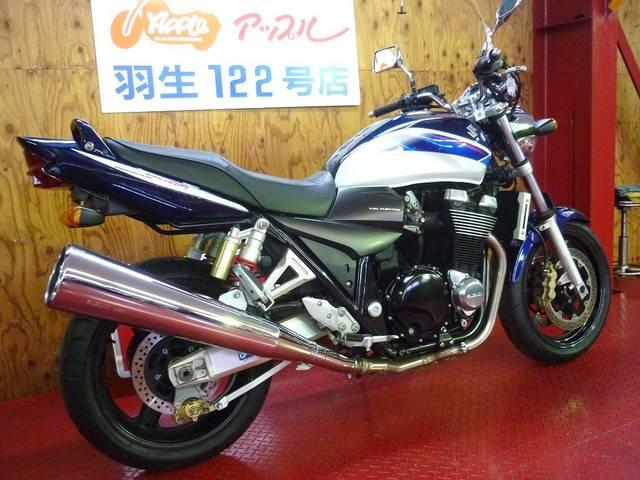 スズキ GSX1400 青白ツートンカラー ノーマルの画像(埼玉県