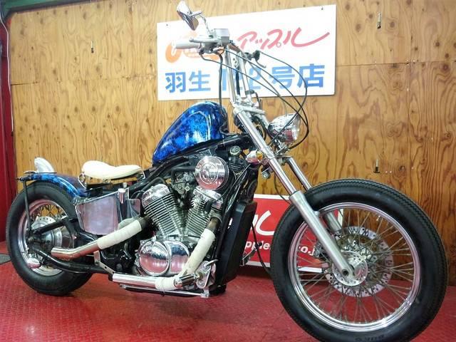 ホンダ スティード400 スポタン ロボハン ドラッグパイプの画像(埼玉県