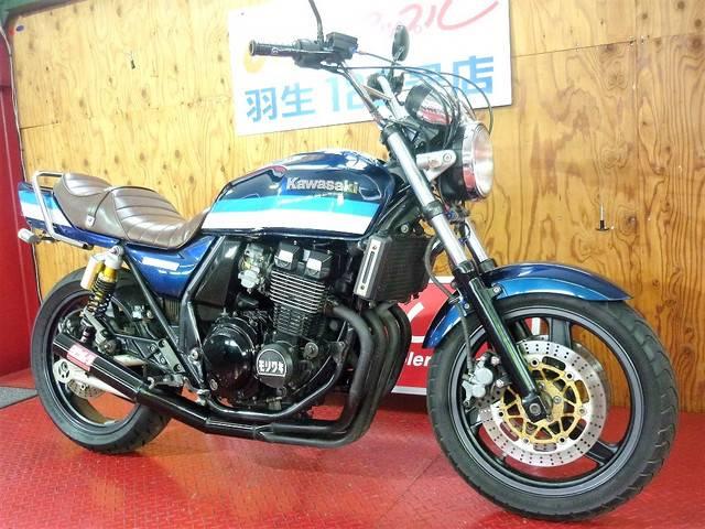 カワサキ ZRX400 UPハンドル ショート管 タックロールの画像(埼玉県