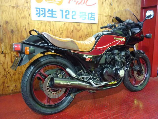 カワサキ GPZ400 オールペン タイヤ前後新品の画像(埼玉県