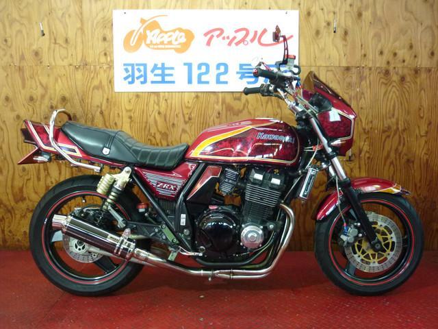 カワサキ ZRX400 カスタム 社外マフラー UPハンの画像(埼玉県