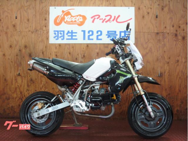 KSR110 ストライカーマフラー 油圧クラッチ仕様