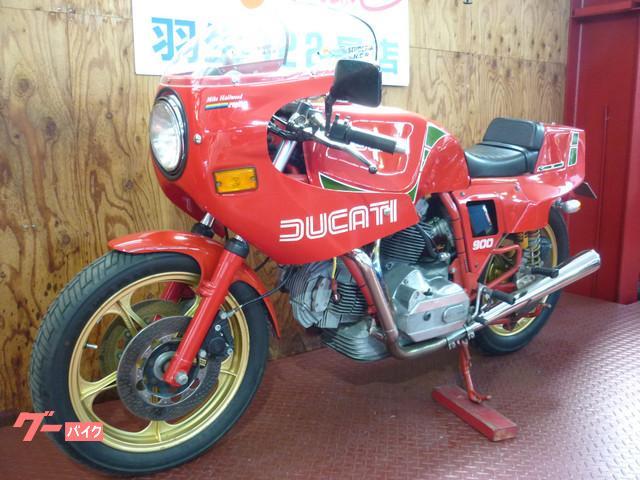 DUCATI 900MHR レッドカラーの画像(埼玉県