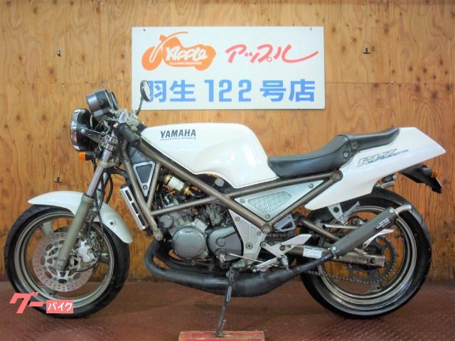 ヤマハ R1-Z ホワイトカラー OXレーシングチャンバー マーシャルヘッドライトの画像(埼玉県