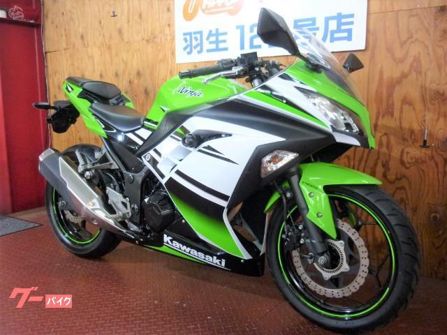 カワサキ Ninja 250 ABS ライムグリーンの画像(埼玉県