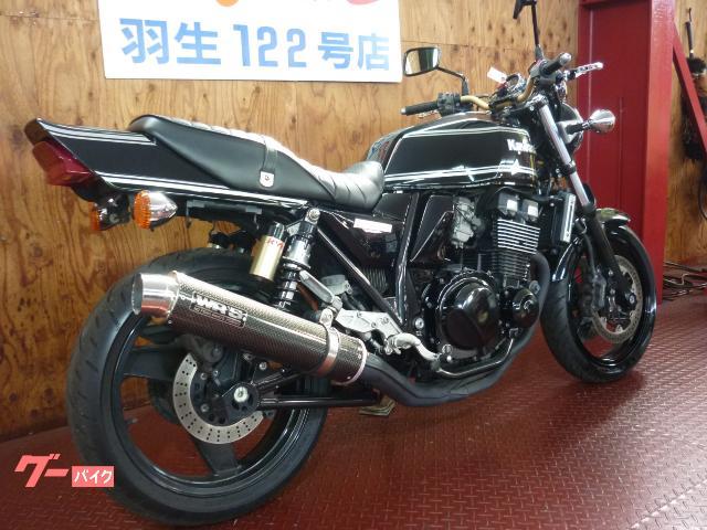カワサキ ZRX400-II ブラック WR'Sマフラーの画像(埼玉県