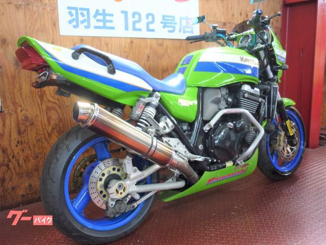 カワサキ ZRX1100 ライムグリーン 社外マフラー アンダーカウルの画像(埼玉県