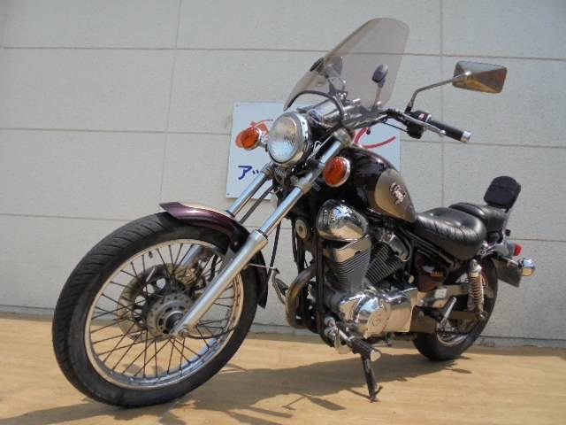 ヤマハ XV250ビラーゴ ハイウェイスクリーン バックレスト付の画像(群馬県