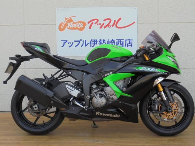 カワサキ Ninja ZX-6RMRAスクリーン付の画像(群馬県