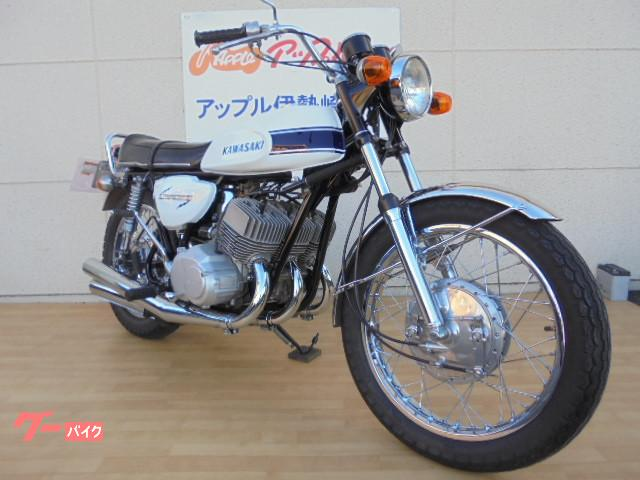 カワサキ 500SSマッハIII H1 赤ベタの画像(群馬県