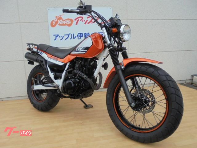 ヤマハ TW225E ノーマル 大型キャリア付の画像(群馬県