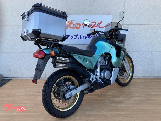 ホンダ トランザルプ400V キャリア付の画像(群馬県