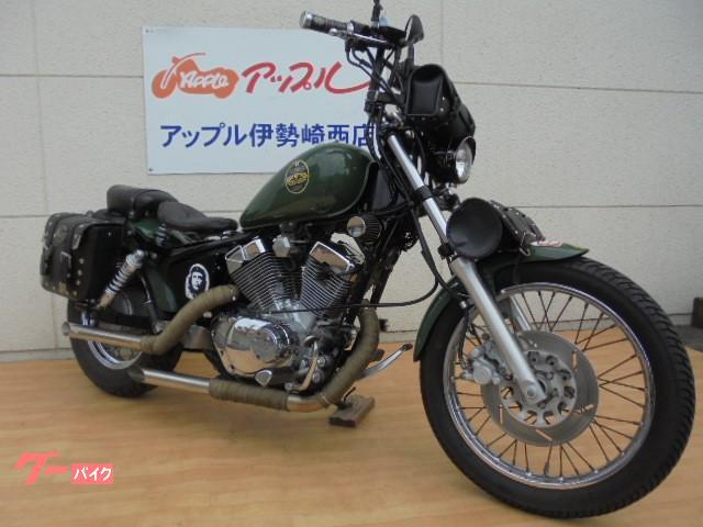 ヤマハ XV250ビラーゴ ロボハン ローダウン サイドバック付の画像(群馬県