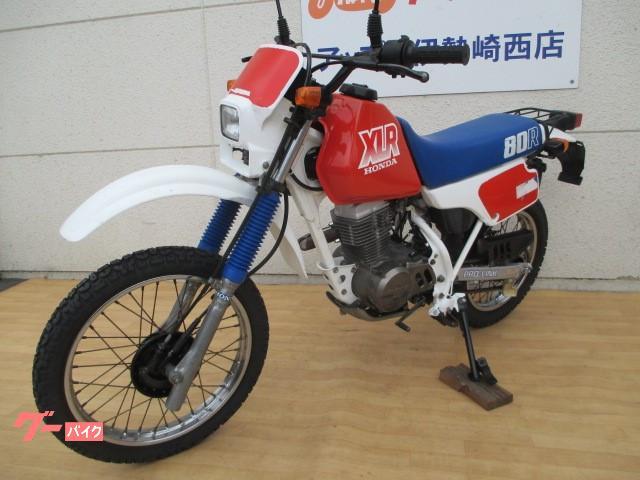 ホンダ XLR80R 前後タイヤ新品 フォークブーツ新品の画像(群馬県