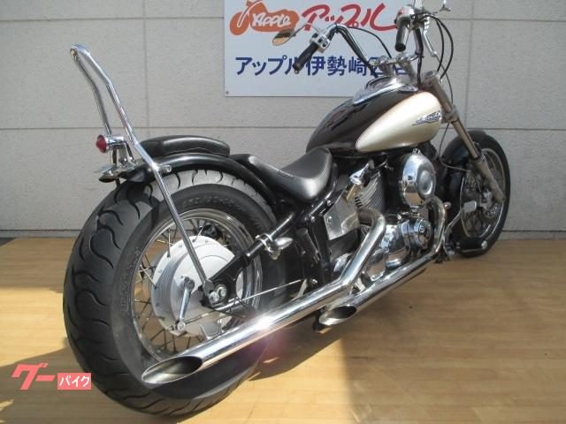 ヤマハ ドラッグスター400 ローロング シーシーバー ドラッグパイプの画像(群馬県