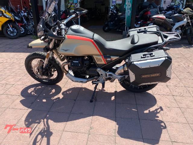 MOTO GUZZI V85 TT トラベルの画像(北海道
