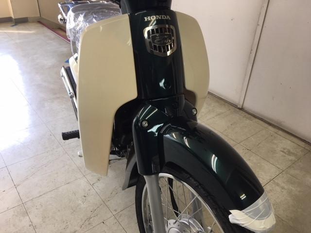 ホンダ スーパーカブ110 2018 新車の画像(北海道