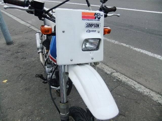 ホンダ XLR250Rモタード仕様の画像(北海道