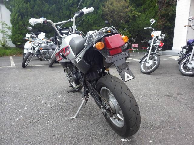 カワサキ KSR110 KL110A SPAハンドルの画像(茨城県