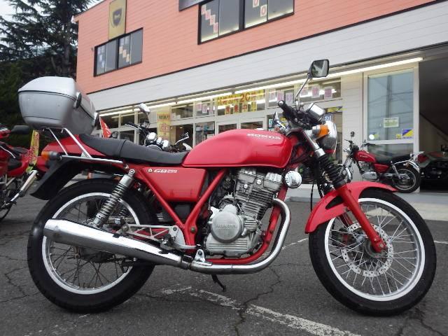 ホンダ GB250クラブマン リアボックスの画像(茨城県