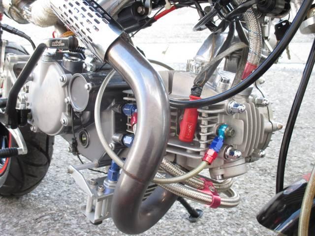ホンダ ゴリラ 社外170ccエンジン TMRキャブ アルミフレーム他の画像(群馬県