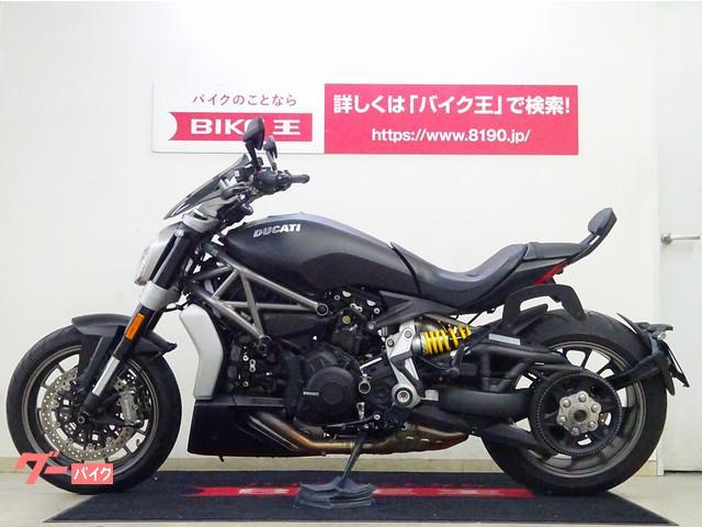 DUCATI Xディアベル エンジンスライダー付き サイドバックステー付き USBポート付きの画像(栃木県