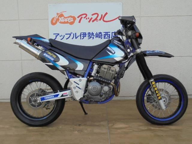 ヤマハ TT250R フルカスタム モタード カミナリRの画像(群馬県