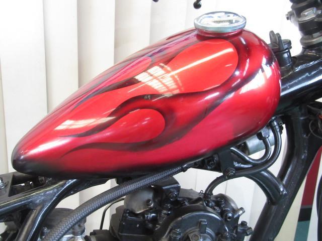 ヤマハ SR400 チョッパー 社外タンクの画像(茨城県