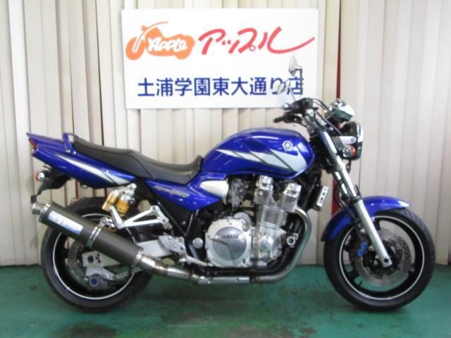 ヤマハ XJR1300 キャブ最終 赤キー付属 OVERマフラーの画像(茨城県
