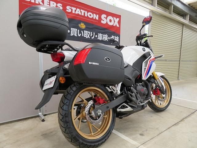 ホンダ CBF190XパニアケースTOPボックス付の画像(茨城県