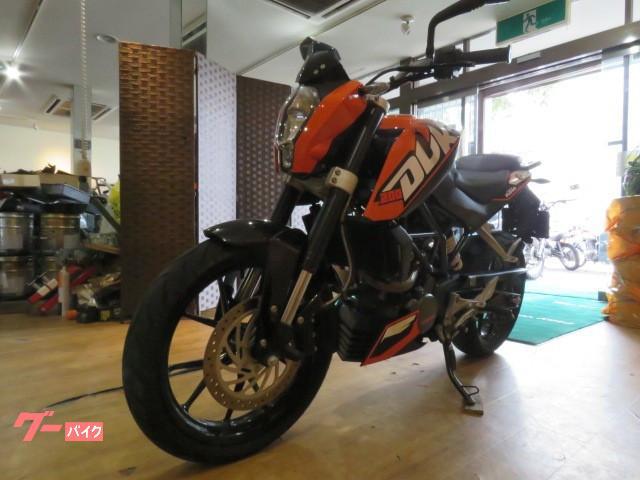 KTM 200デュークの画像(北海道