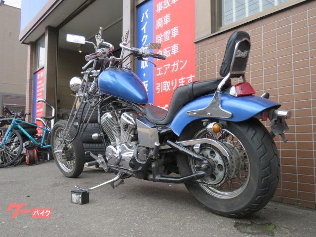 ホンダ スティード400 ロングフォーク チョッパー フルカスタムの画像(北海道